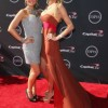 "Emily and Nicole from ""Pretty Wicked Moms"" walk the Red Carpet at the ESPY'S 2013"